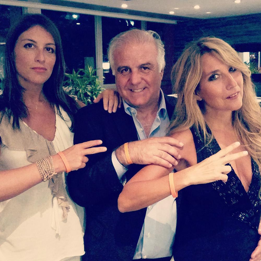 A Miami con Roberto Fodde, amico di Chico e Jo Squillo, sostenitrice della causa.